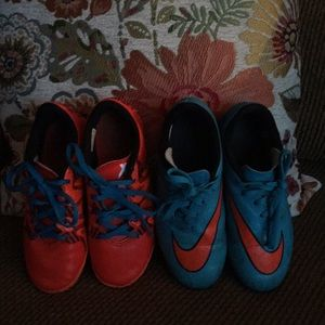 Other - SOCCER CLEATS! Indoor and outdoor ⚽️